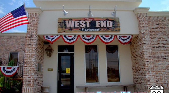 West End Restaurant in Waveland is sure to impress diners!