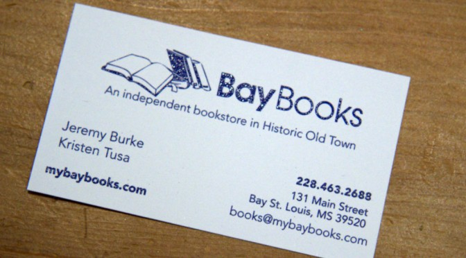 Bay Books is local Bay St Louis small bookstore.