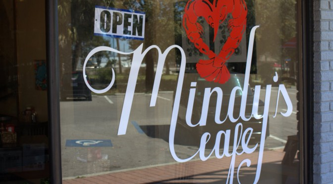 Mindy's Cafe, Bay St Louis, Mississippi  CLOSED